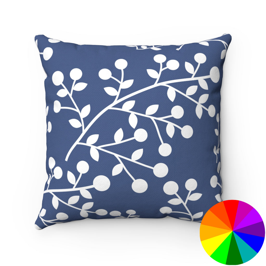 BERRIES DECORATIVE THROW PILLOW