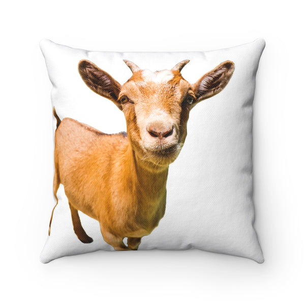 BROWN GOAT PILLOW