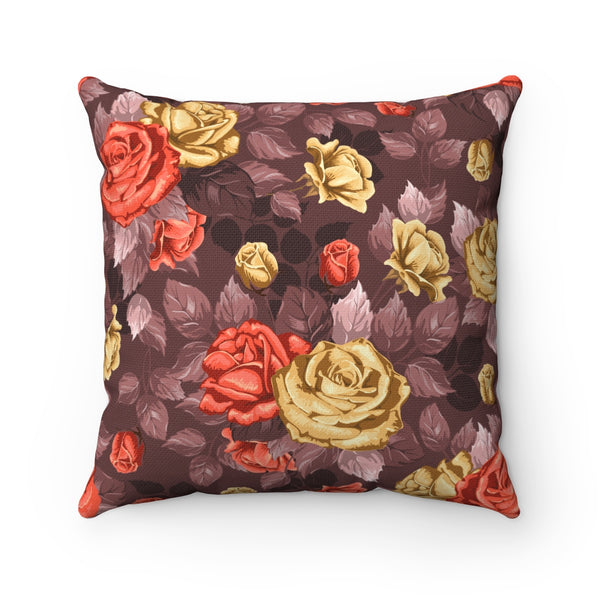 RUSTIC ROSES DECORATIVE THROW PILLOW