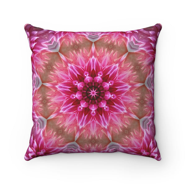 PINK MADALA DECORATIVE THROW PILLOW