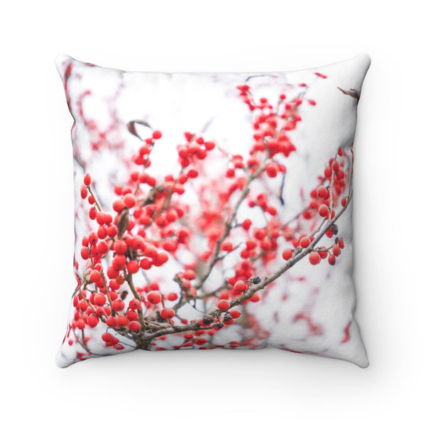 SNOWBERRIES AND SNOW PILLOW