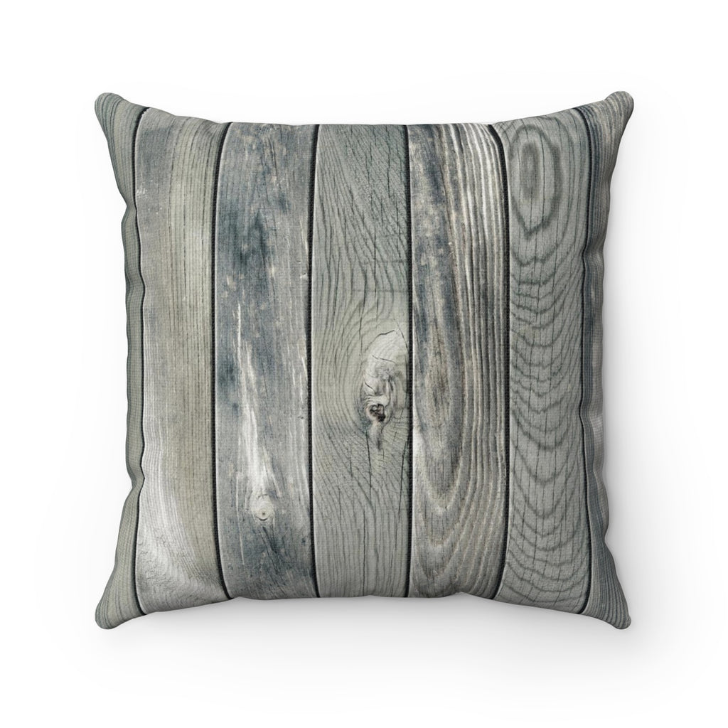 WOOD SILVER PILLOW