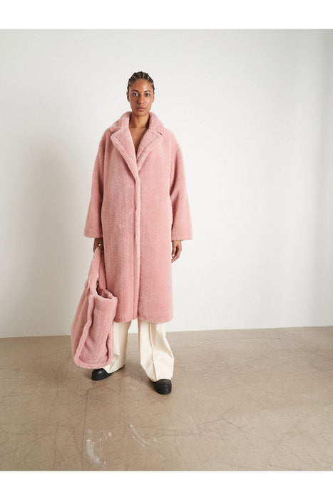 stand studio maria coat light pink kabat