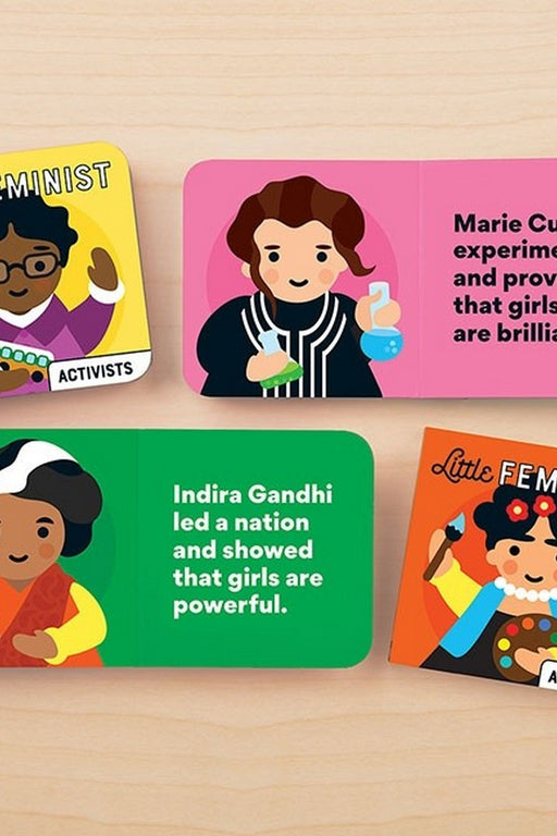 Little Feminist Board Book Set By Galison, Lydia Ortiz
