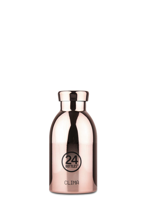 24bottles clima bottle 330 ml rose gold rozsdamentes acel kulacs palack