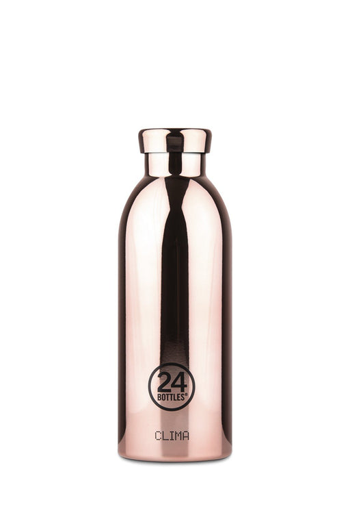 24bottles clima bottle 500 ml rose gold rozsdamentes acel kulacs palack