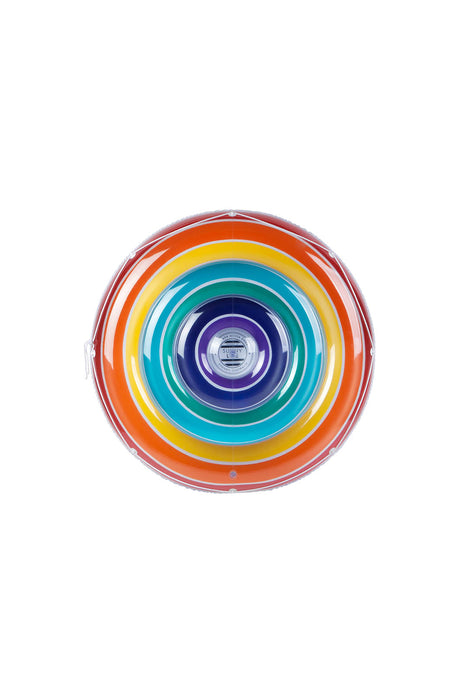 Giant Round Rainbow Float For 2 People