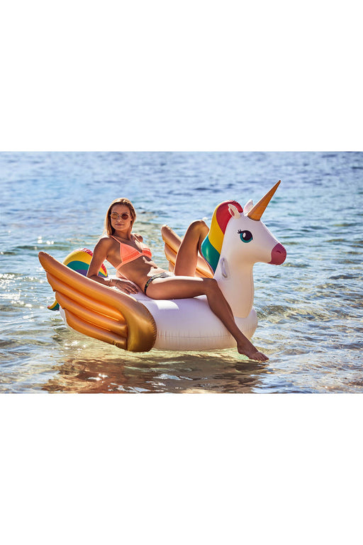 Giant Luxe Ride-On Unicorn Float