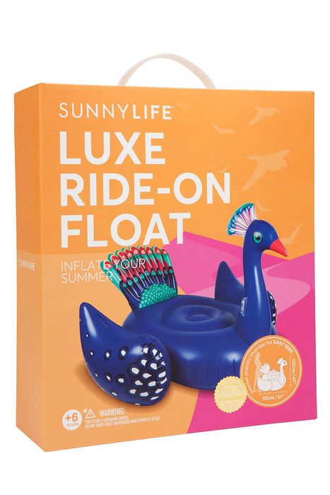 Giant Luxe Ride-On Peacock Float