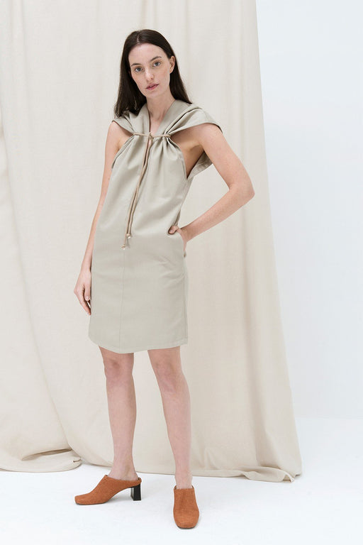 alma vetlnyi maple dress gray sand ruha