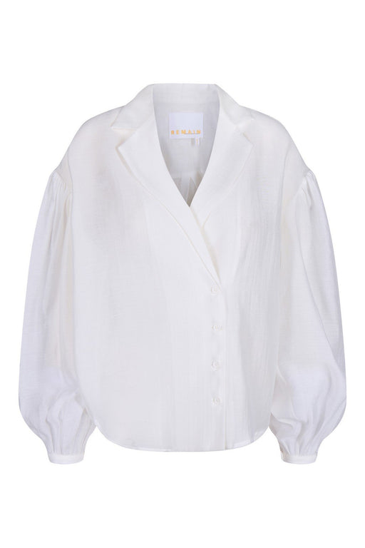remain west longsleeve shirt bright white ing