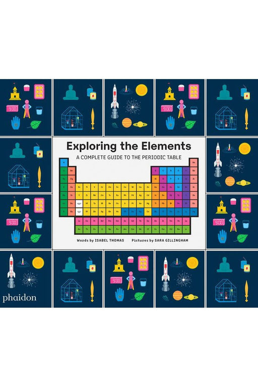 phaidon exploring the elements by isabel thomas angol nyelvu konyv