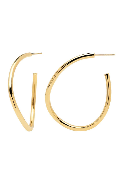 P D PAOLA | Yoko Gold Earrings