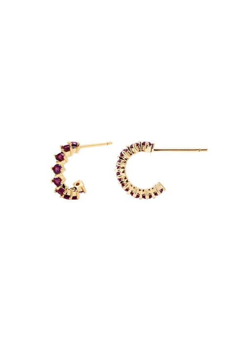 P D PAOLA | Violet Bird Earrings