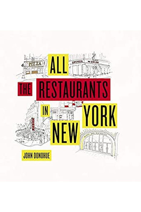 galison all the restaurants in new york by john donohue angol nyelvu konyv