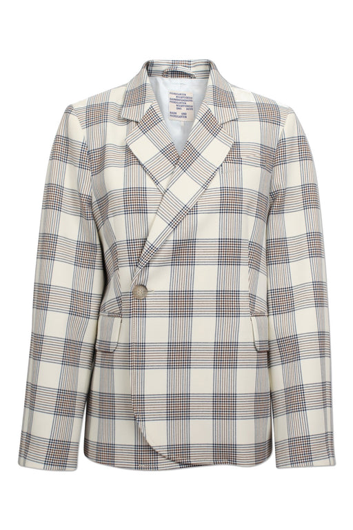 Becks Oversized Check Blazer