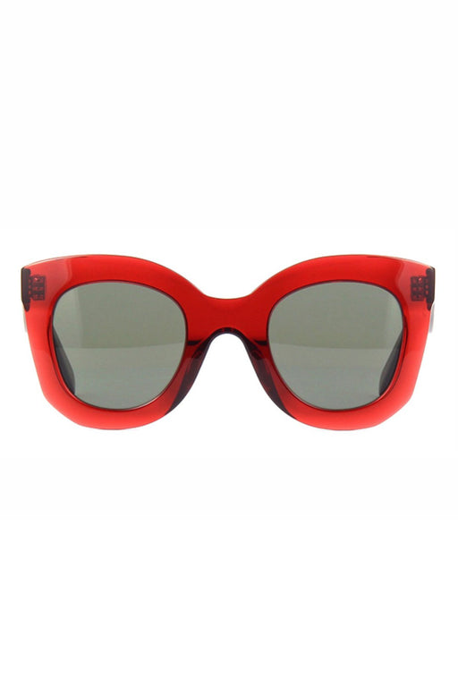 celine butterfly sunglasses in acetate redgreen napszemuveg