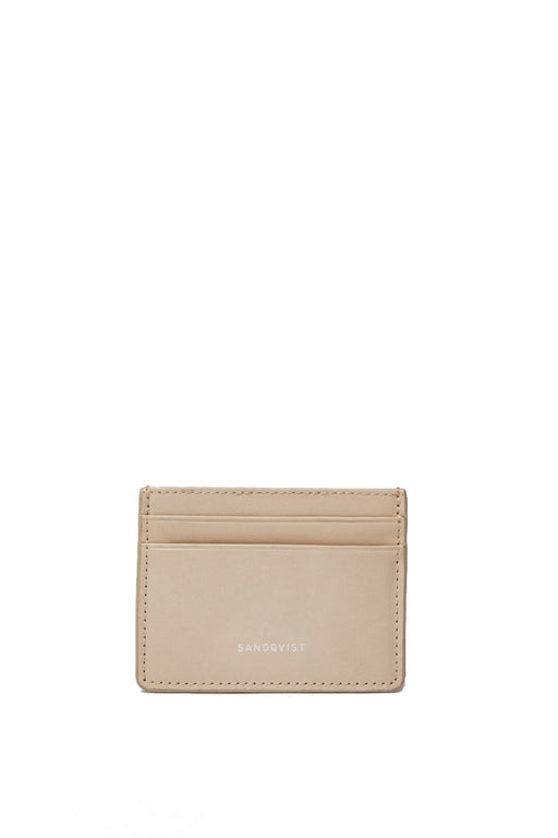 sandqvist fred card holder beige kartyatarto