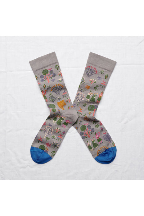 Elephant Country Socks