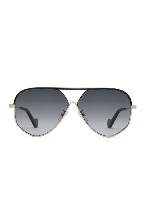 loewe pilot leather sunglasses black leather goldgrey napszemuveg
