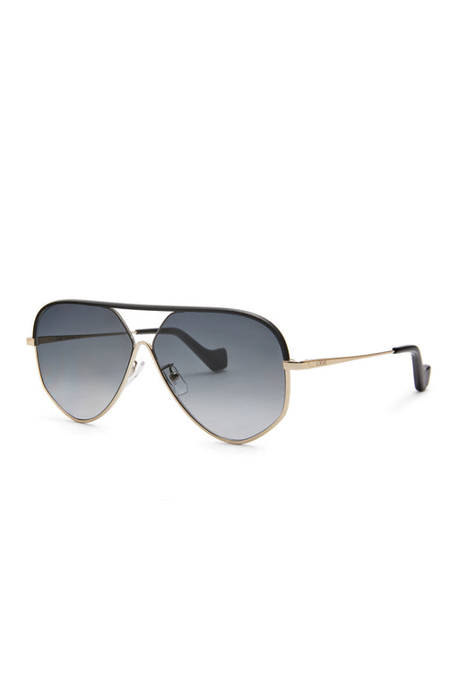 Pilot Leather Sunglasses