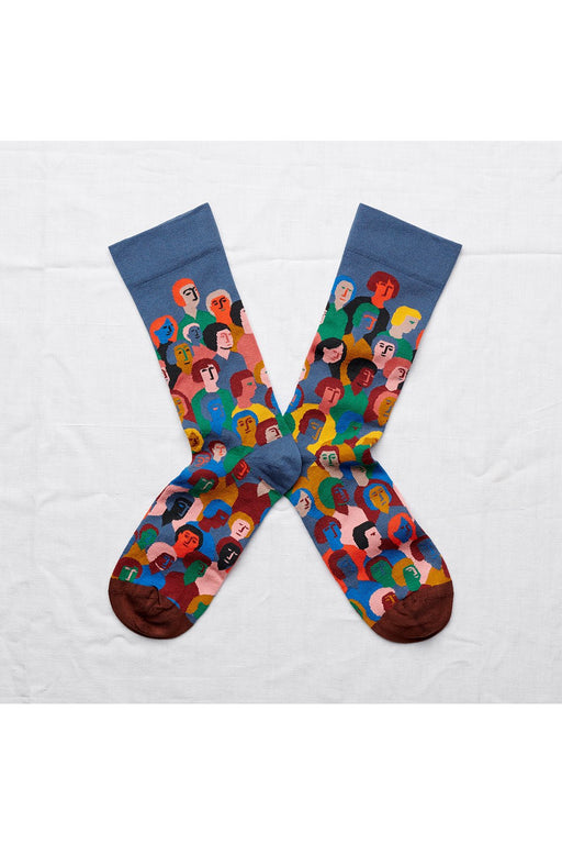 Denim Crowd Socks