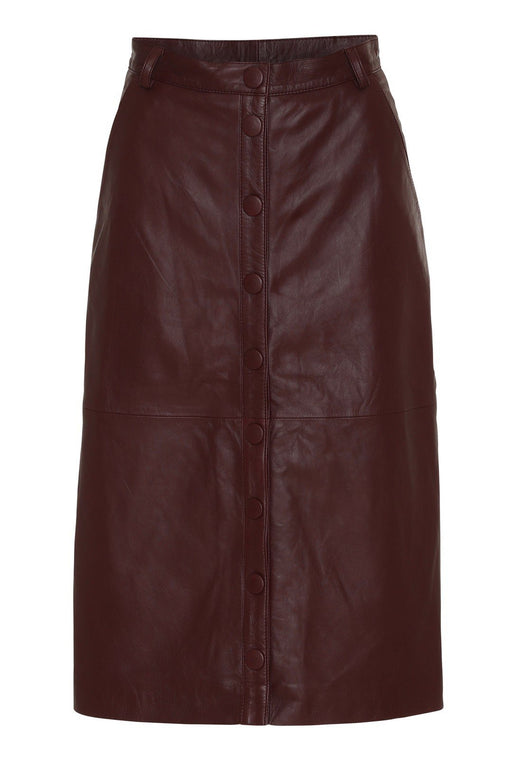 remain bellis leather skirt port royale borszoknya