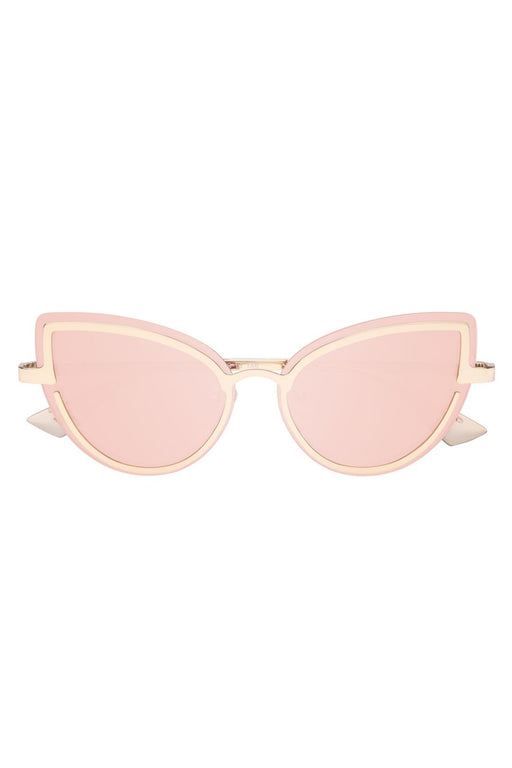 Adulation Gold Blush Sunglasses