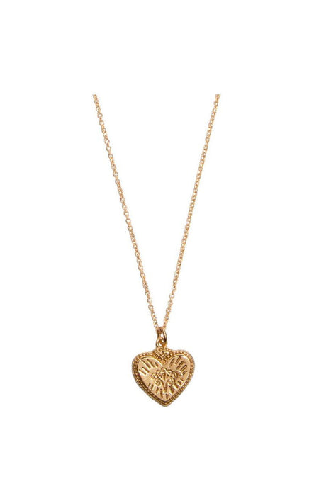 Burst Heart Necklace