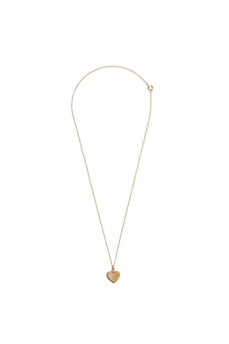 all the luck in the world burst heart necklace gold nyaklanc
