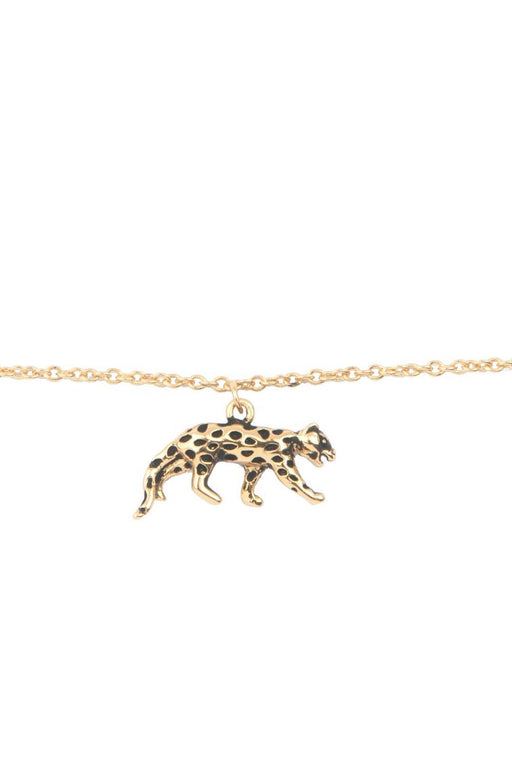 all the luck in the world leopard bracelet gold karkoto