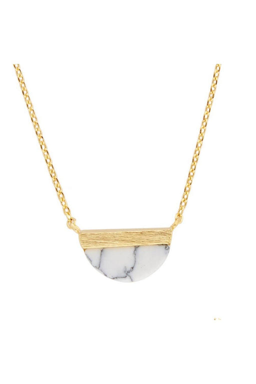 all the luck in the world moon b necklace galaxy collection white howlitegold nyaklanc