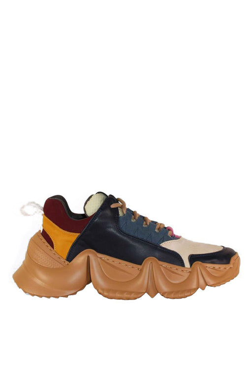 another project leslie chunky sneakers navy bor sportcipo