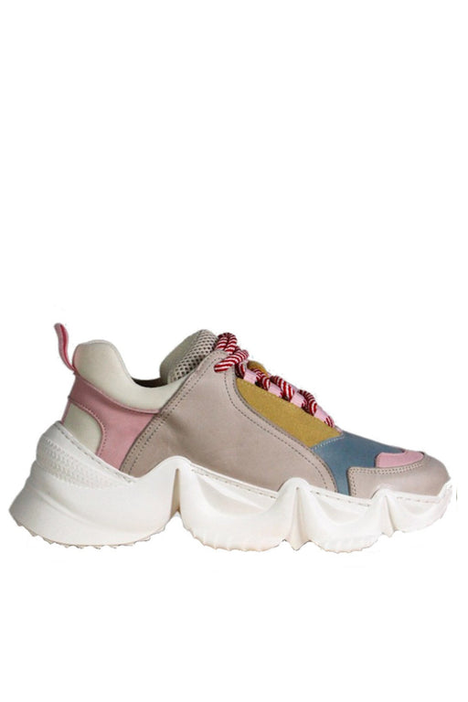 another project lolly chunky sneakers greypink leather bor sportcipo
