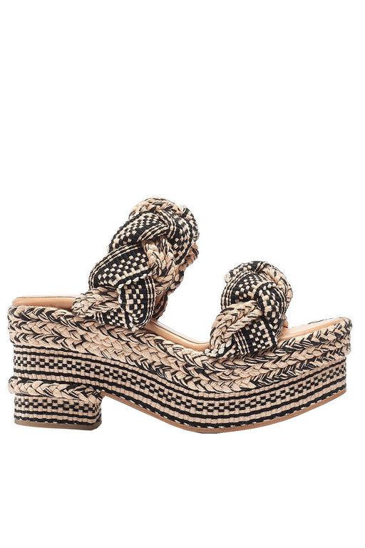 Conchita Cotton Platform Sandals