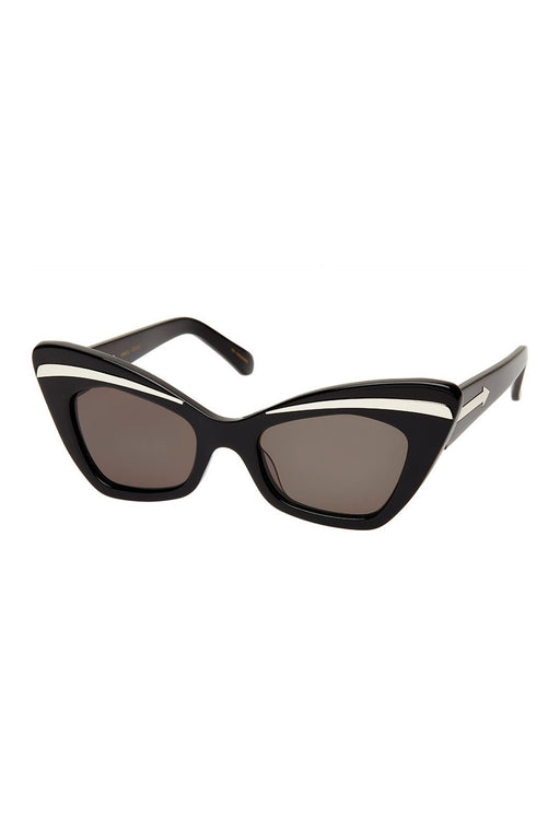 Babou Black Silver Sunglasses