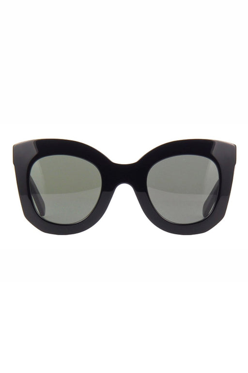 celine butterfly sunglasses in acetate blackgreen napszemuveg