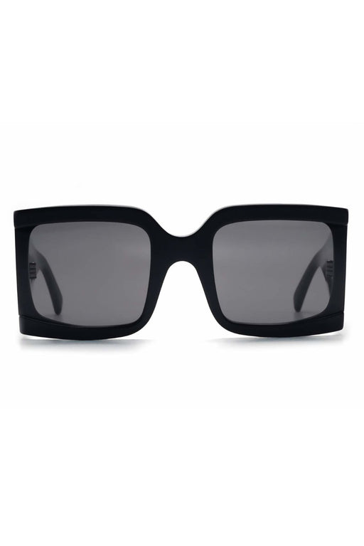 celine rectangular sunglasses in acetate blackgrey napszemuveg