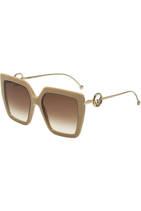 F Is Fendi Oversize Square Sunglasses