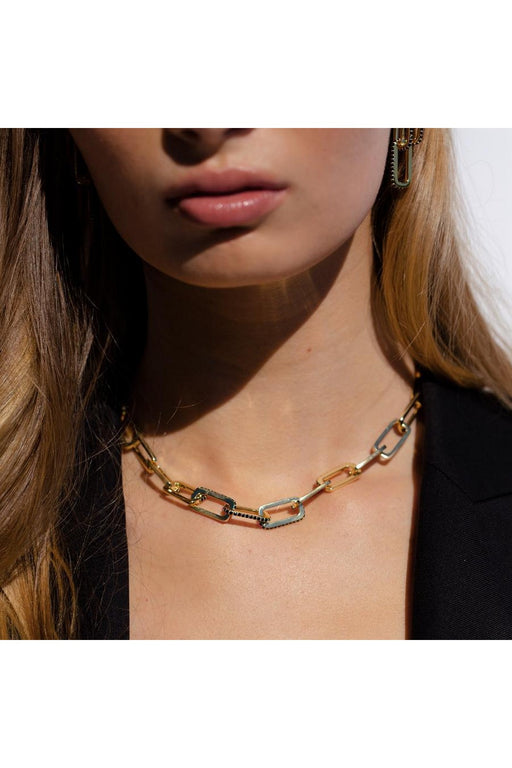 Dylan Gemstone Chain Necklace