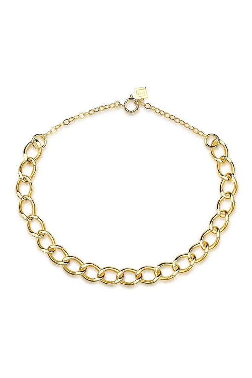 fh jewellery royal chain necklace gold korpulens lanc nyaklanc