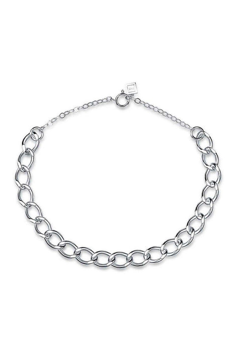 fh jewellery royal chain necklace silver korpulens lanc nyaklanc