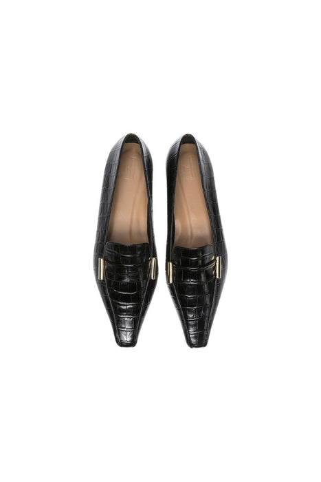 flattered dolly loafers black lapossarku cipo