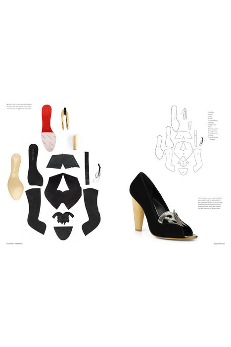 Footwear Design (Portfolio Skills: Fashion & Textiles) By Aki Choklat