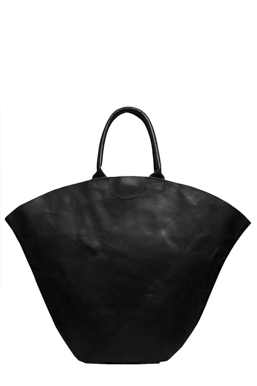gabriel for sach tulip xl leather totebag black nagy meretu bortaska