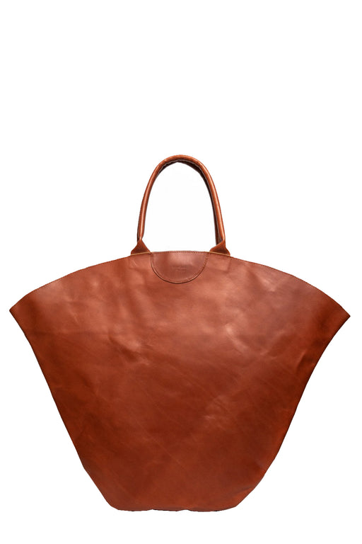 gabriel for sach tulip xl leather totebag cognac nagy meretu bortaska