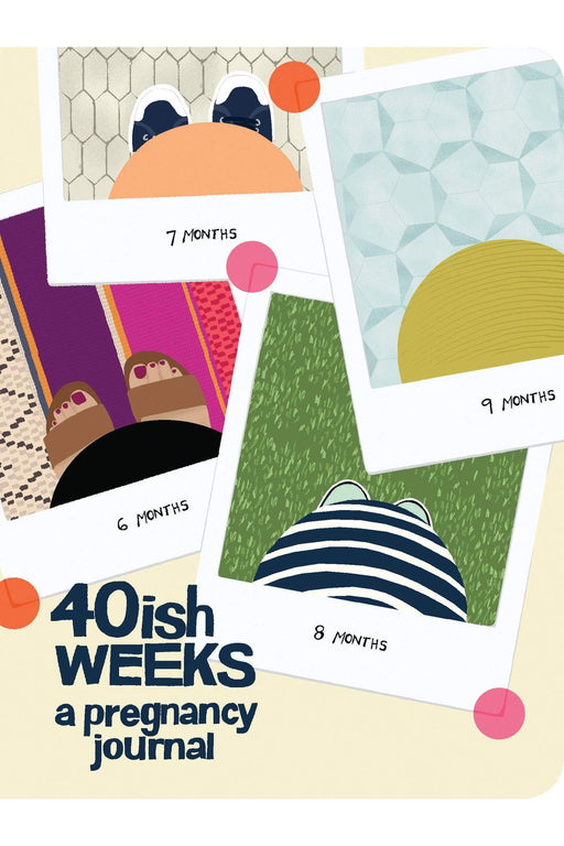 40ish Weeks: A Pregnancy Journal By Kate Pocrass