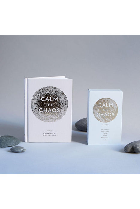 Calm The Chaos Cards: 65 Simple Practices For A More Peaceful Life By Nicola Ries Taggart