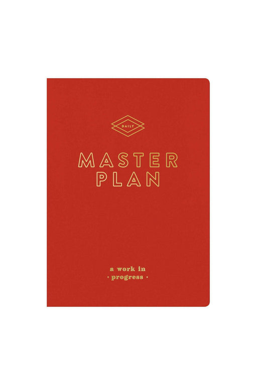 Master Plan Writer's Undated Planner