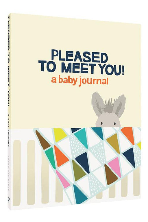 Pleased To Meet You! A Baby Journal By Kate Pocrass